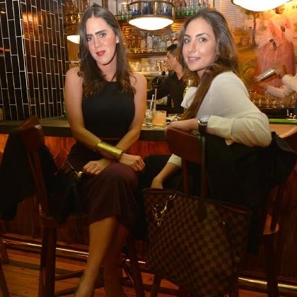 Fernanda Franco y Carine Lamadieu.