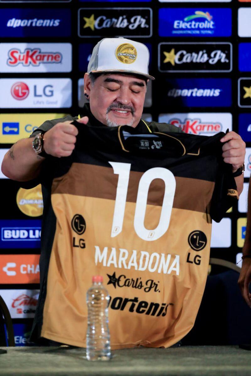 Diego Armando Maradona México