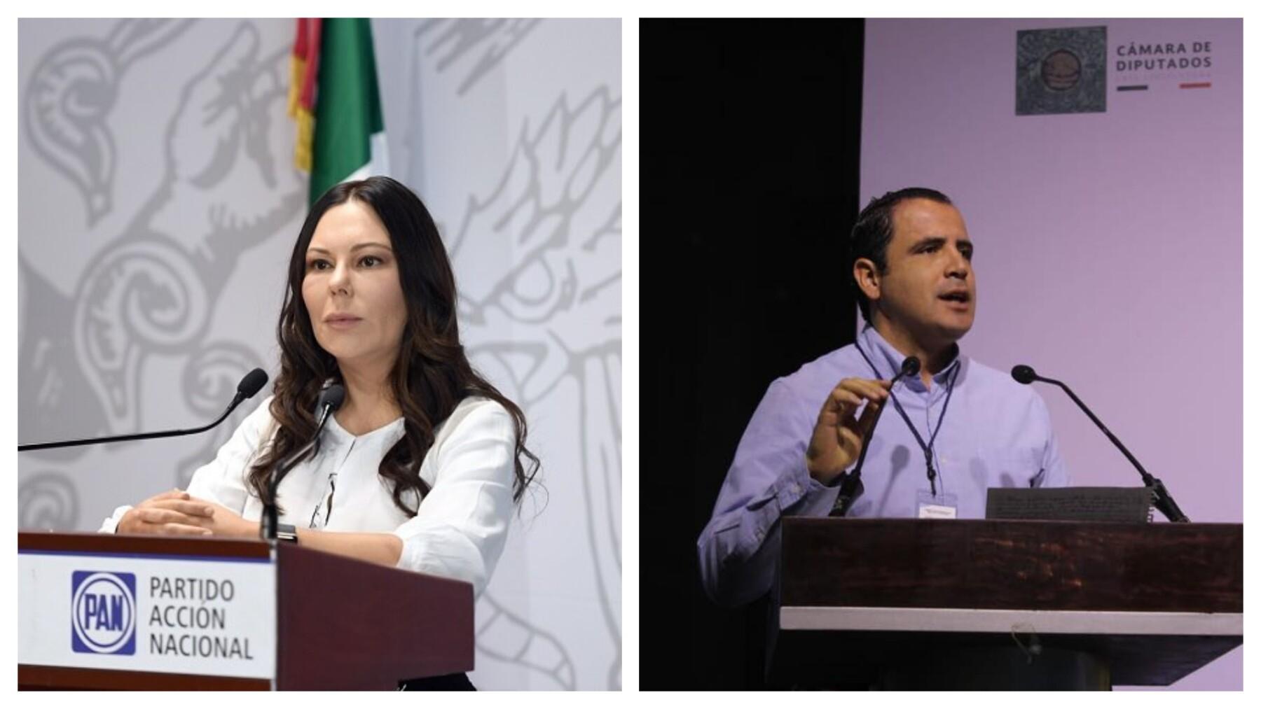 Laura Rojas y Xavier Azuara