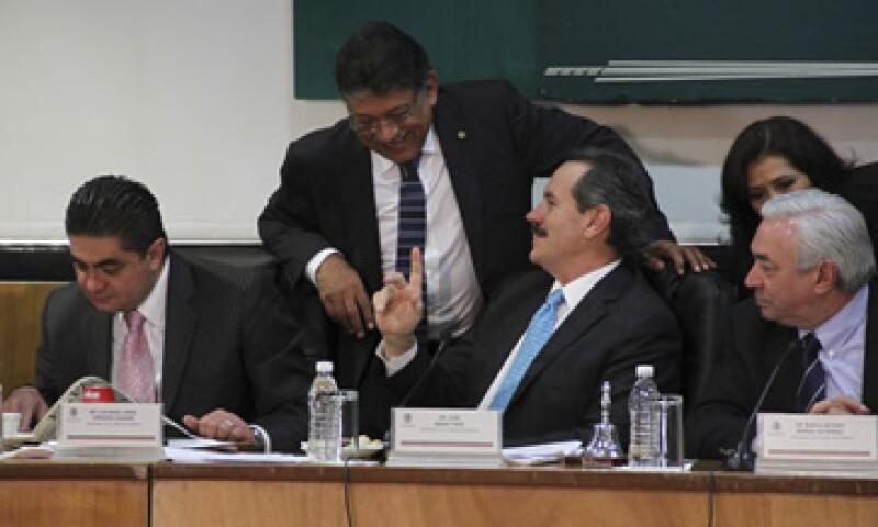 La discusión en la Cámara de Diputados estuvo apunto de ser suspendida en sus primeros minutos. (Foto: Cuartoscuro)
