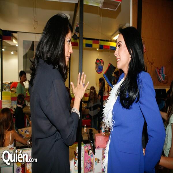 Claudia Flores,María Laura Salinas