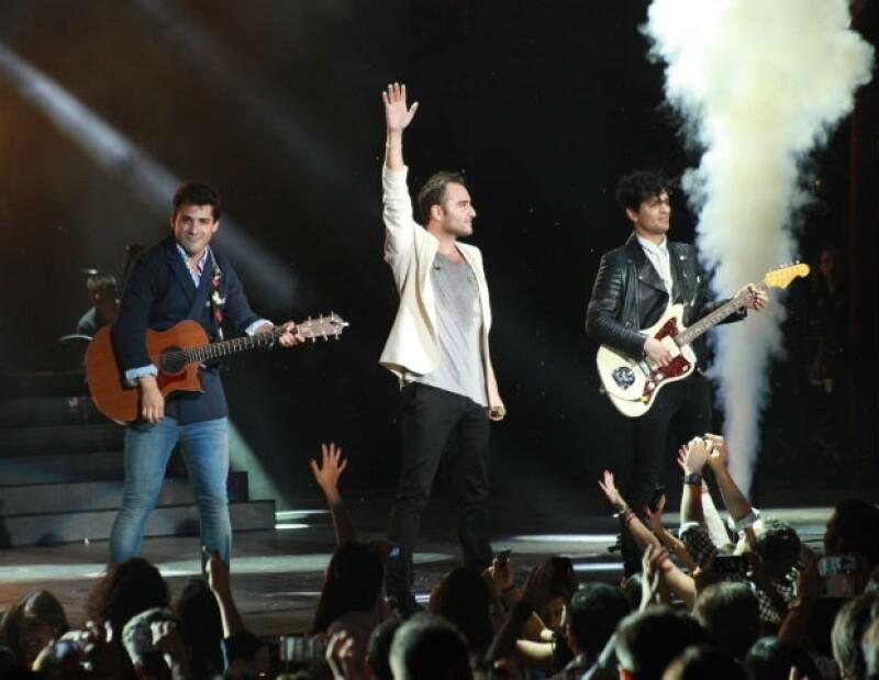 La agrupación celebró su quinto Auditorio Nacional con recinto lleno y despidiendo su gira con gran éxito.