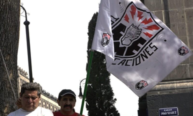 El gobierno federal está dispuesto a apoyar a los trabajadores del Sindicato Mexicano de Electricistas. (Foto: Notimex)