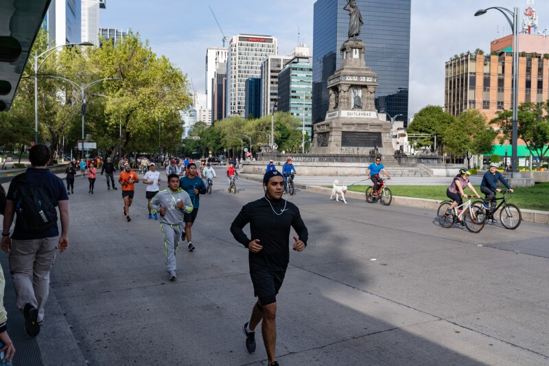 Mexico City Marathon/ Triathlon 19. August
