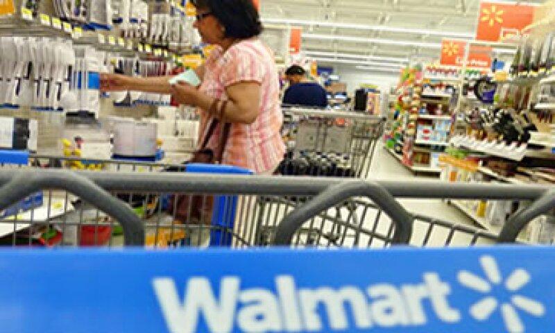 Con base en las expectativas de diciembre, se anticipa que los ingresos de Walmart de México y Centroamérica crecieron 10.5% en 2012. (Foto: Reuters)