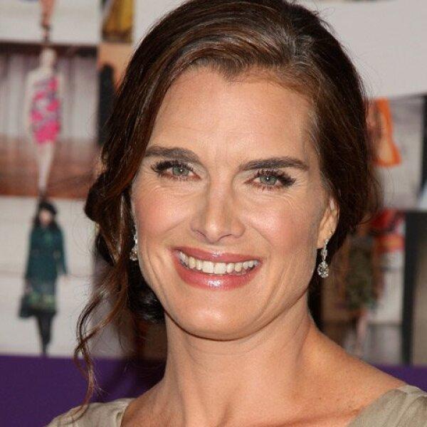 Brooke Shields. La actriz es licenciada de Literatura Francesa por la Universidad de Princeton.
