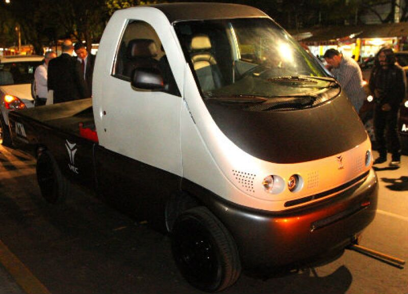 auto el�ctrico UAM-VEC