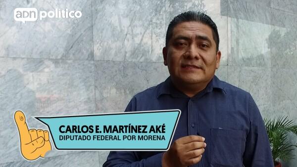 #YoLegislador Carlos Enrique Martínez Aké