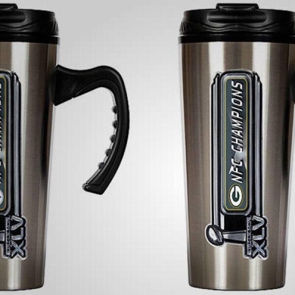 Mantén tu bebida caliente con estos termos, disponibles también en los dos equipos que disputan el Súper Tazón.