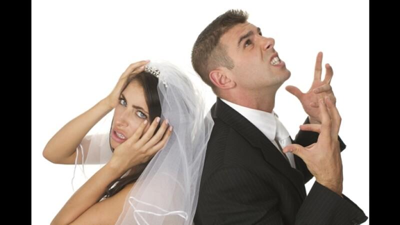boda estrés crisis pareja