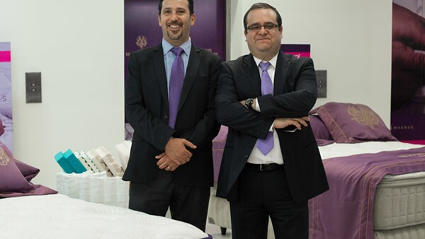 Carlos Sacal e Ismael Santana