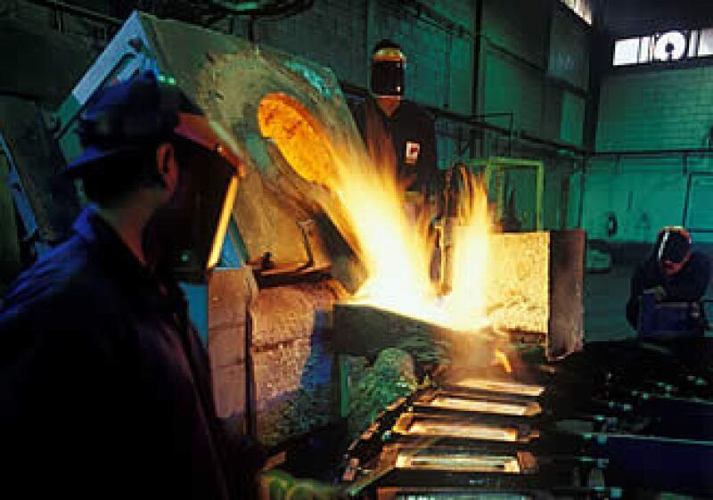 La compañía minera Peñoles espera crecerá niveles de 65% gracias al auge y al alza de los metales en los mercados.  (Foto: Cortesía Grupo Industrial Peñoles)