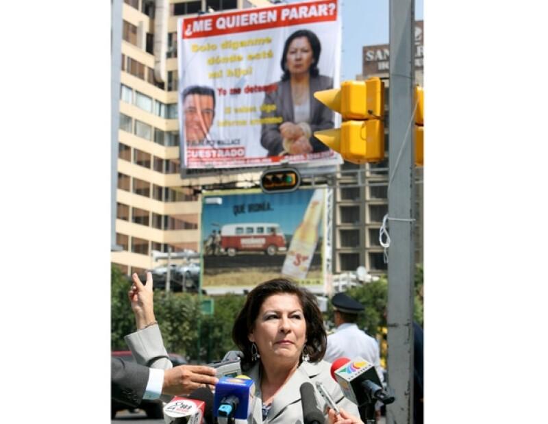 De maestra a activista y ahora política. El Partido de Acción Nacional la invitó para que sea candidata al Gobierno del Distrito Federal.