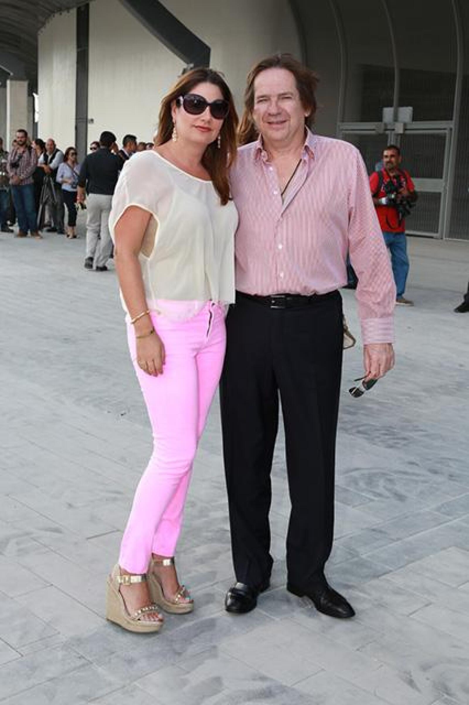 Alejandra Hinojosa y Sergio Gutierrez