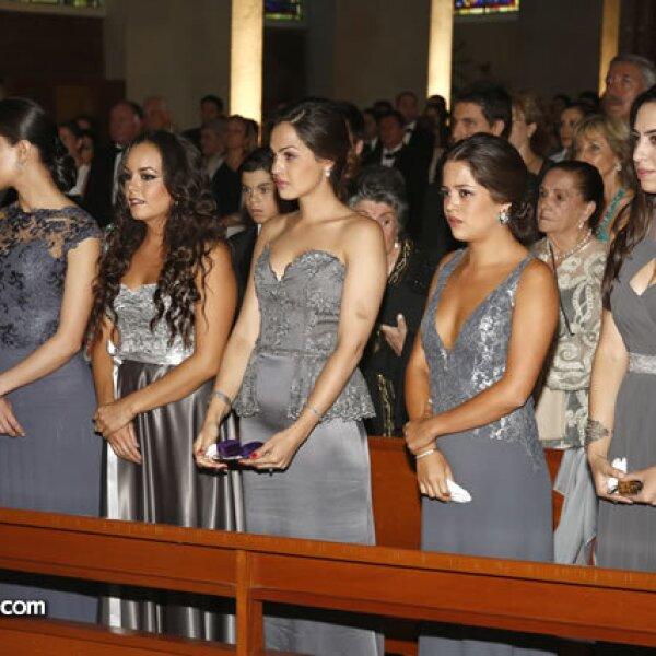 Regina Rojo, Daniela y Miriam Goñi, Miriam y Nicole Urich Sass y Ariela Laski