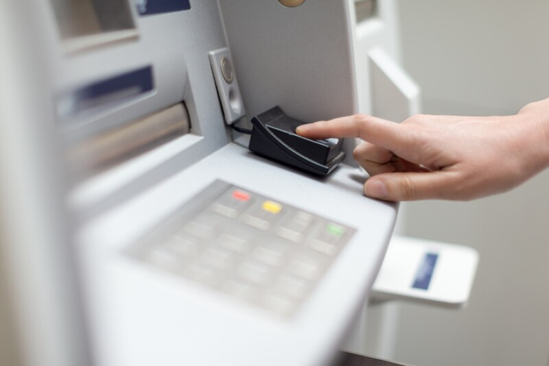 Fingerprint recognition technology on ATM