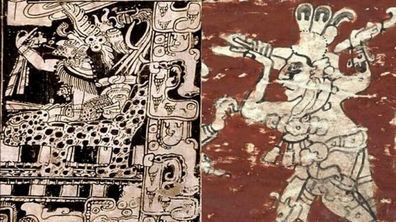 glifos mayas de la zona arqueologica del Tortuguero