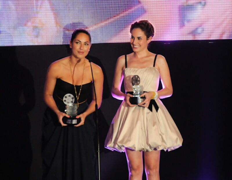 La Cámara Nacional de la Industria del Cine y del Videograma entregó ayer sus premios, en los que Bárbara y Ana empataron como Mejor Actriz; Stephanie Sigman fue la Promesa del Año.