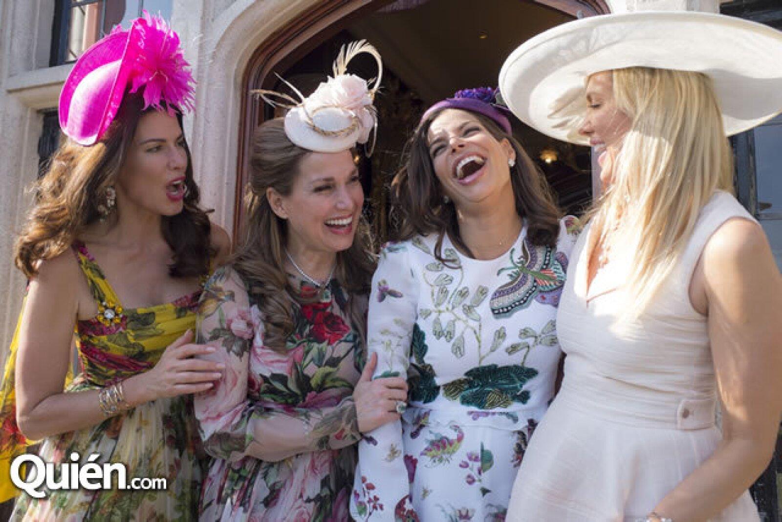 Christina Estrada,Sonia Falcone, Bárbara Coppel y Nuria Carte