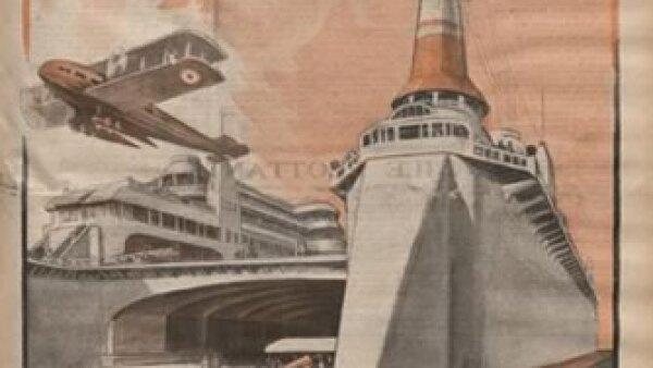 Transportes y puertos log�sticos. Cr�dito: Archivo de la Bibliot�que Nationale de France