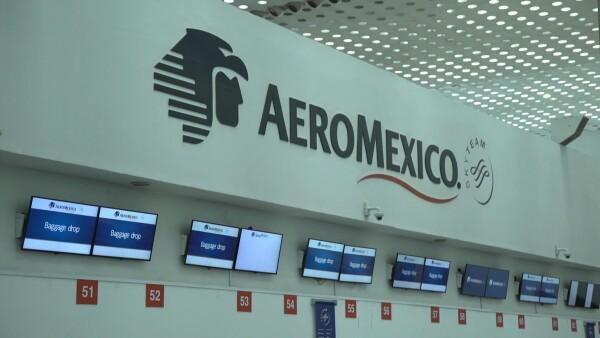 Aeroméxico pide acogerse a ley de bancarrota en Estados Unidos por la pandemia