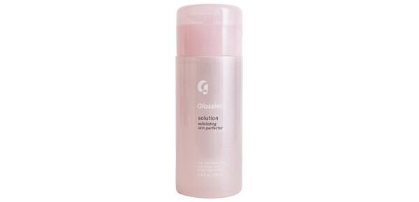 exfoliantes quimicos-piel-complexión-ingredientes-ácidos-rutina skincare-glossier