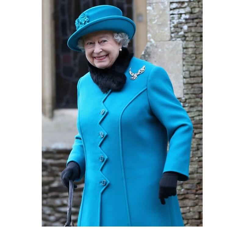 La Reina manda cada año un mensaje que se transmite por televisión y radio.