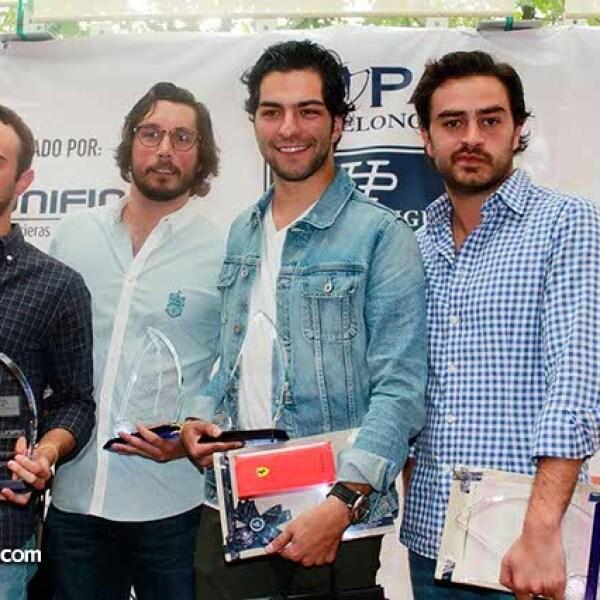 Segundo Lugar: Javier Álvarez,Javier Hernández,Eugenio Álvarez y Jorge Salim