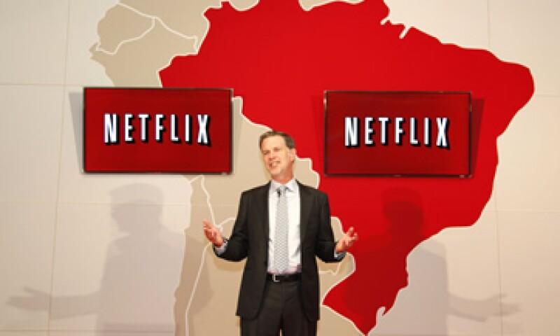 Algunos piensan que si Netflix, liderada por Reed Hastings, se descuida, podría sufrir el mismo destino que AOL. (Foto: AP)