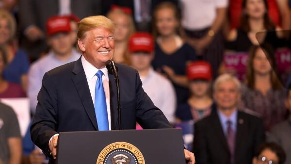 El recuento de las verdades a medias, exageraciones y mentiras de Donald Trump