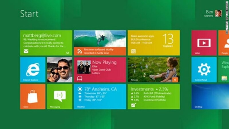 Windows 8 prueba test