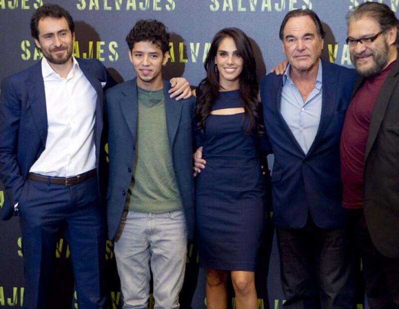 El realizador estadounidense elogia el trabajo de los actores mexicanos Salma Hayek, Joaquín Cosío, Demian Bichir, Sandra Echeverría y Diego Cataño.