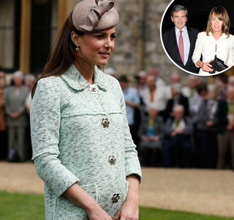 De acuerdo con Daily Mail, la Duquesa de Cambridge considera la casa de sus padres más segura, razón por la que podría mudarse con ellos por un tiempo tras nacer el heredero al trono.