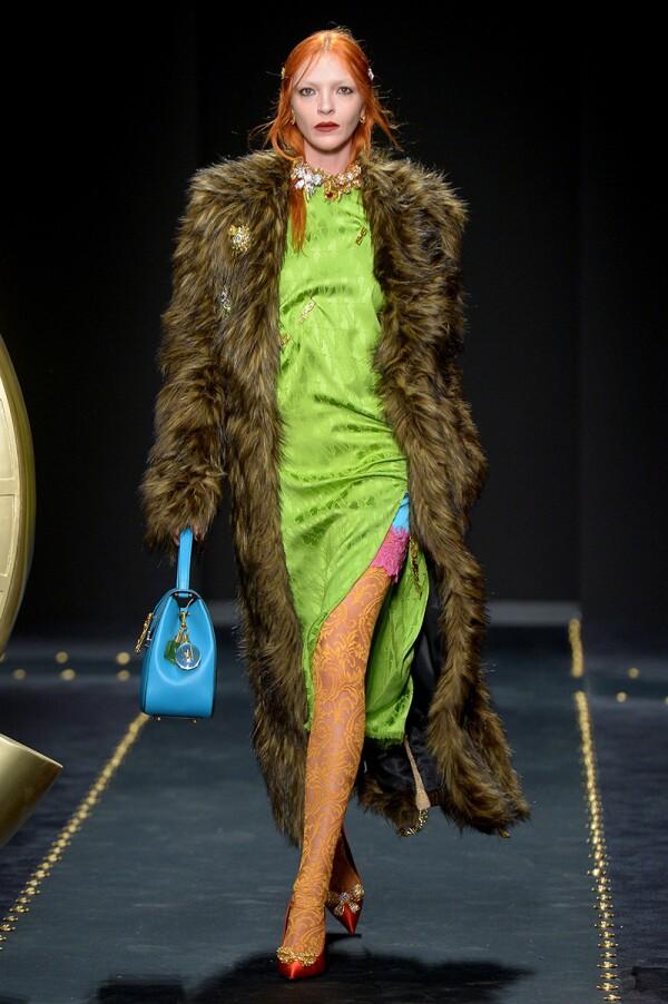 Versace show, Runway, Fall Winter 2019, Milan Fashion Week, Italy - 22 Feb 2019