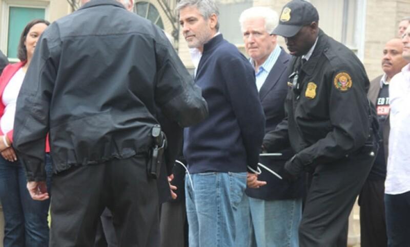 La situación de Clooney se convirtió en trending topic.