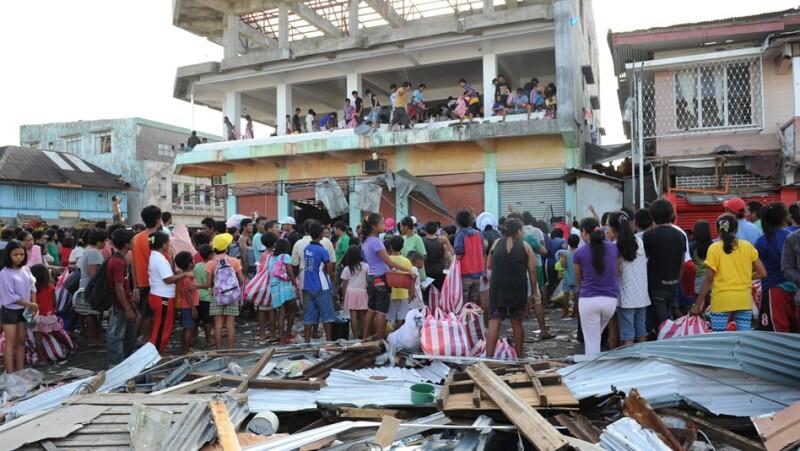 filipinas, tormenta haiyan, destruccion, lluvias