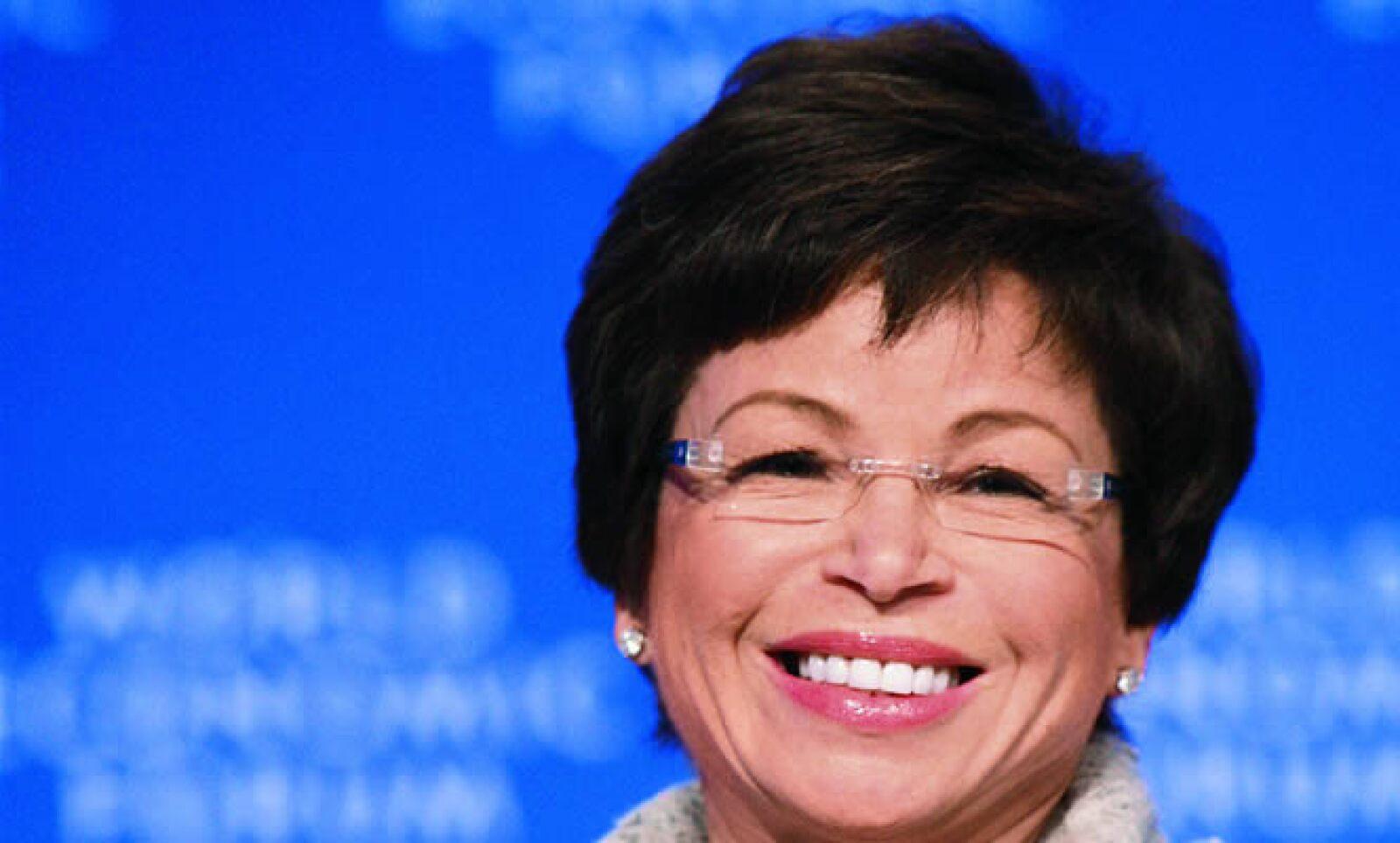 Valerie Jarrett es llamada la otra mitad del cerebro de Obama. Ocupa la Consejería de Relaciones Intergubernamental.