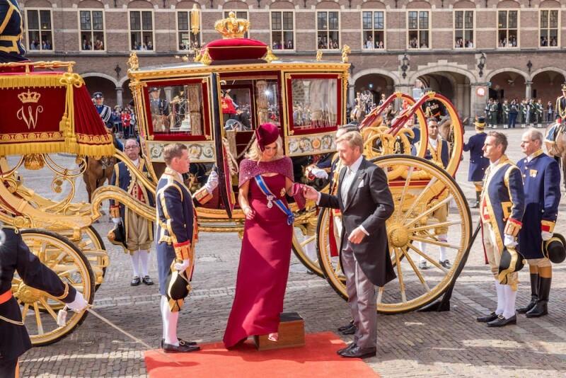 Prinsjesdag celebrations, The Hague, Netherlands - 17 Sep 2019