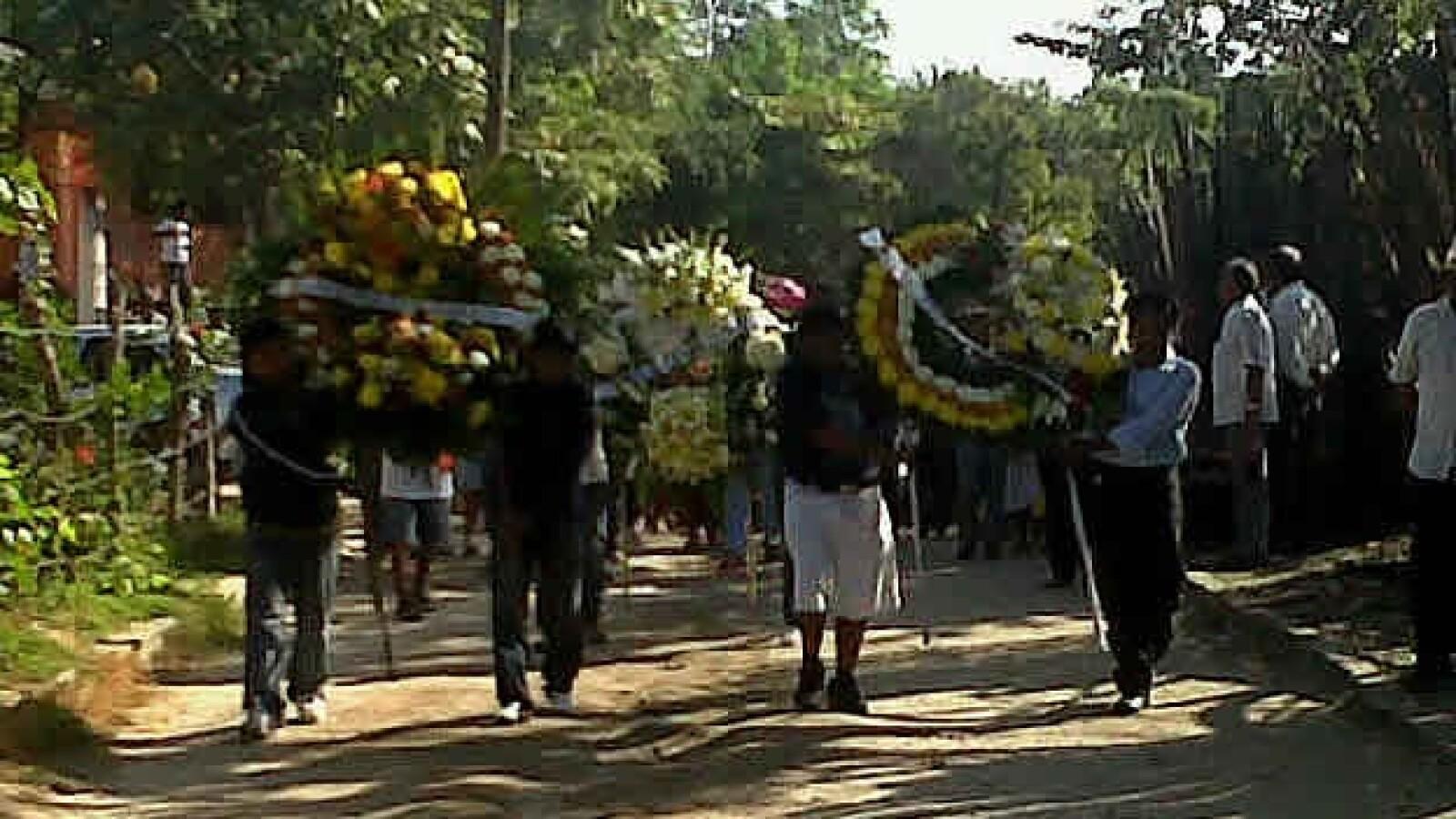 Funeral en Atoyac  de Jorge Alexis, alumno de Ayotzinapa, Guerrero 3