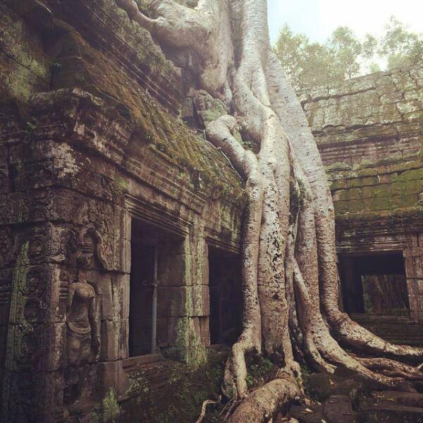 Ruinas de Siem Reap en Camboya.