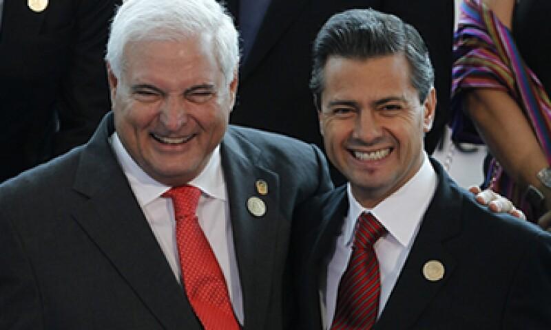 Panamá puede ser la puerta de entrada de México al marcado sudamericano, dijo el presidente, Martinelli. (Foto: EFE)