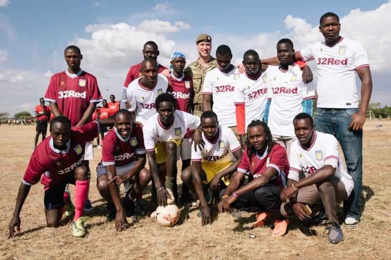 William en Kenia 2018