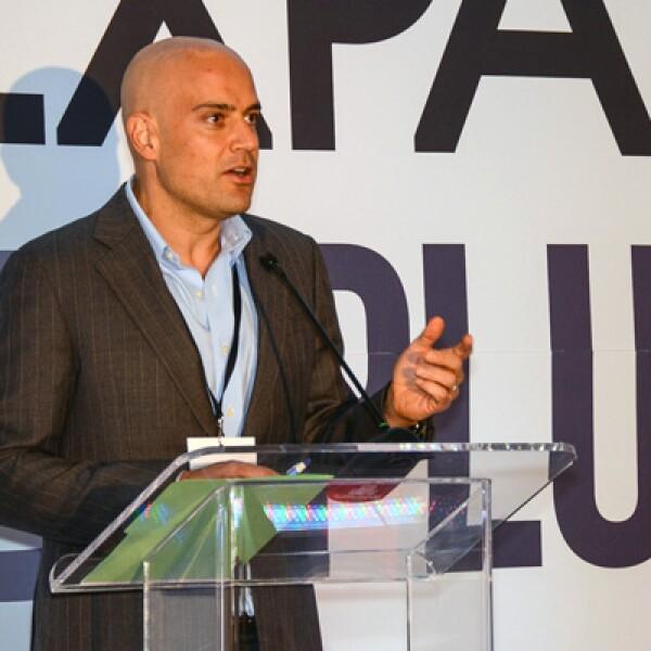 Manuel Rivera, CEO de Grupo Expansión, habló del orgullo que es contar las historias de emprendimiento.