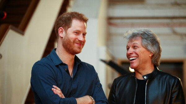 The Duke Of Sussex Visits Abbey Road Studios
