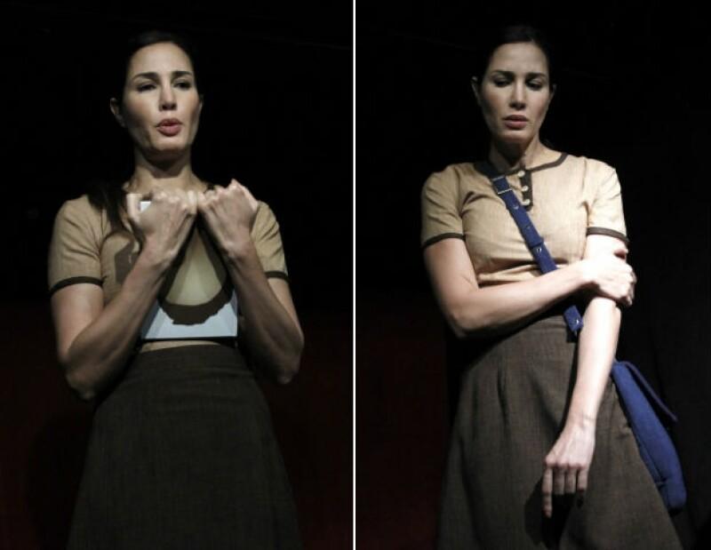 """Martha Cristiana explora su faceta teatral en el monólogo """"María Woyzeck""""."""