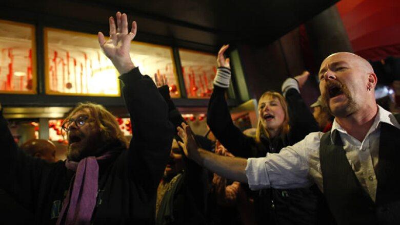 Algunos manifestantes de los Indignados planean protestas en Chicago, Washington, DC y Boise, Idaho.