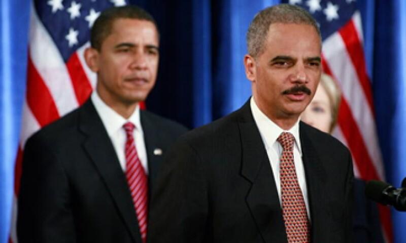 El Fiscal General, Eric Holder, dijo que espera anunciar nuevos casos contra bancos en los próximos meses. (Foto: Getty Images)