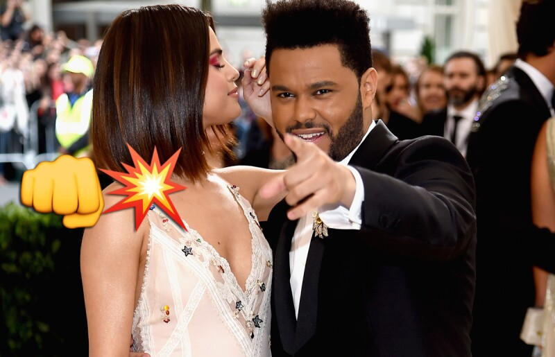 Selena-The-Weeknd
