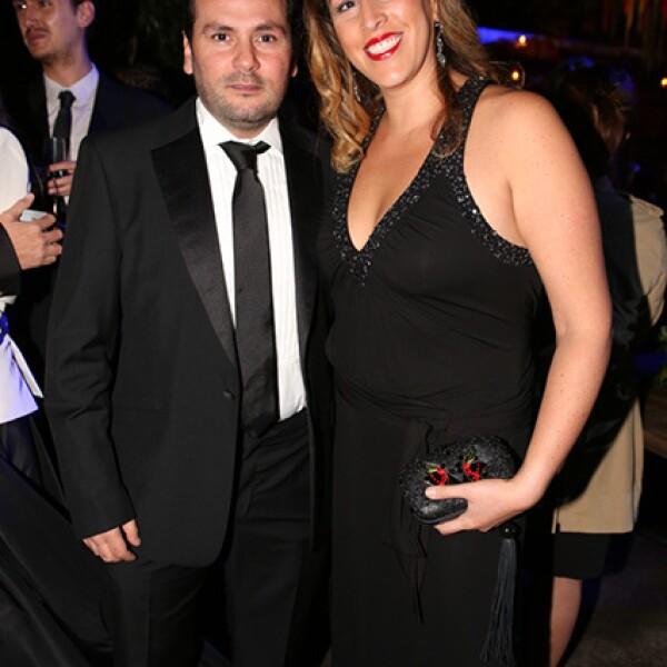 Gerardo Sarur y Ana Madero