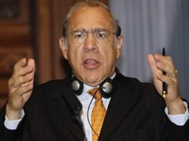 José Ángel Gurría, secretario general de la Organización para la Cooperación y el Desarrollo Económico. (Foto: Archivo)